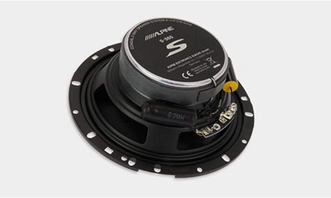 Alpine S S50 13 Cm 5 25 Zoll 2 Wege Koaxial Lautsprechersystem Auto