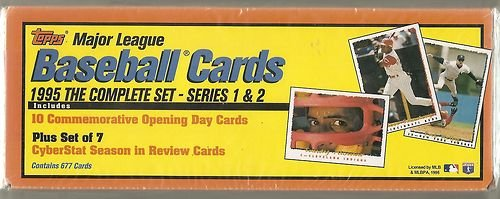 1995 Topps Baseball Factory Sealed Set Which Includes the Complete (1995 Score Baseball)
