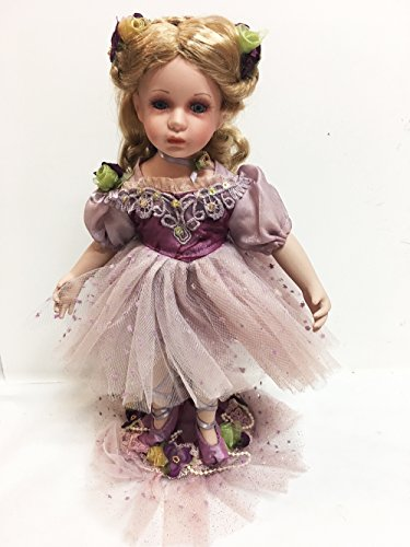 "Show Stoppers 12"" Purple Charming Ballerina Porcelain, used for sale  Delivered anywhere in USA"