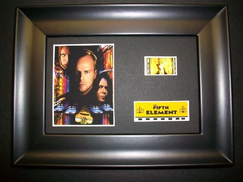FIFTH ELEMENT Framed Film Cell Display Collectible Movie Memorabilia poster dvd