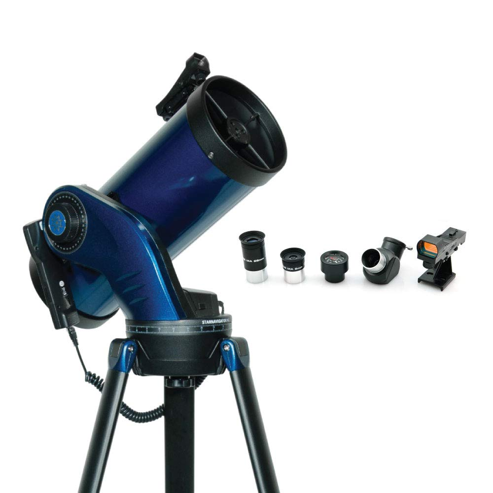Meade Instruments 218004 StarNavigator NG 130 Reflector Telescope, Blue by Meade Instruments