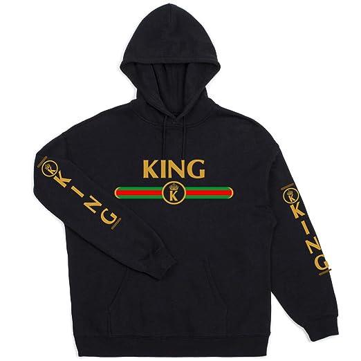 9c267157 Amazon.com: Adults Youth Boys Girls Gucci King Queen Prince Princess Gang  Love Golden T-Shirt S-5XL: Clothing