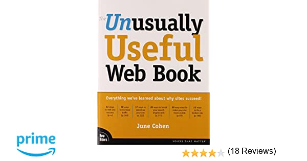 The Unusually Useful Web Book: June Cohen: 0752064712060: Amazon ...
