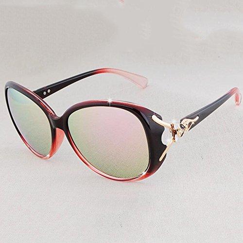 3 Gafas Polarizador Grande xin Ser Retro Equipado WX Sol Miopía con 2 Color Moda De Caja Manejar Puede Ttq0Fwnf