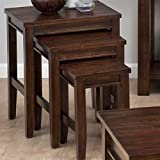3-Pc Casual Nesting Table Set