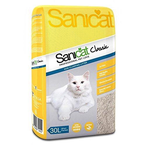 (2 Pack) Tolsa Sanicat Cat Litter Classic Original 30L