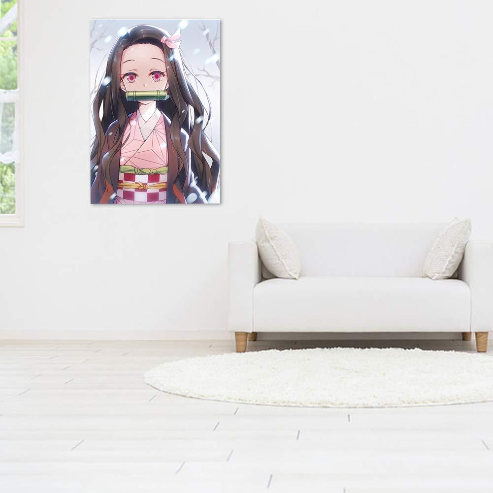 SGOT Poster Anime Demon Slayer Kimetsu no Yaiba en Carton Rigide de Haute qualit/é pour d/écoration de Chambre 42 x 29 cm 6 Pcs