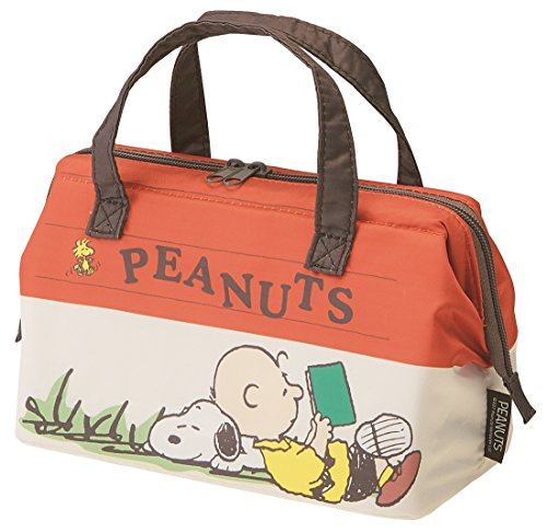 Skater cool cold lunch bag M snoopy house of PEANUTS KGA (Peanuts Lunch Box)