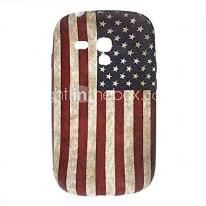 Retro Design The Old Glory Pattern TPU Soft Case for Samsung Galaxy S3 Mini I8910