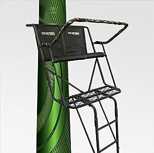 Amazon Com Sniper The Double Down Treestand Sports