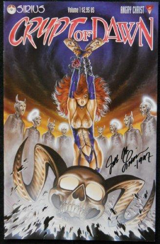 CRYPT OF DAWN VOLUME 1 VF/NM - NM SIGNED JOE LINSNER 1997
