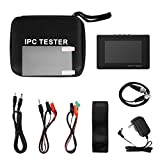 """Upgraded 4"""" Portable Wrist IP Camera Tester CCTV Tester CVBS Analog Tester with IP discovery/Coaxial HD 8MP TVI/4M PCVI/5MP AHD/PTZ/4KH.265/Rapid ONVIF/WIFI/8G TF Card/4K H.265/POE/Firmware Update/Ca"""