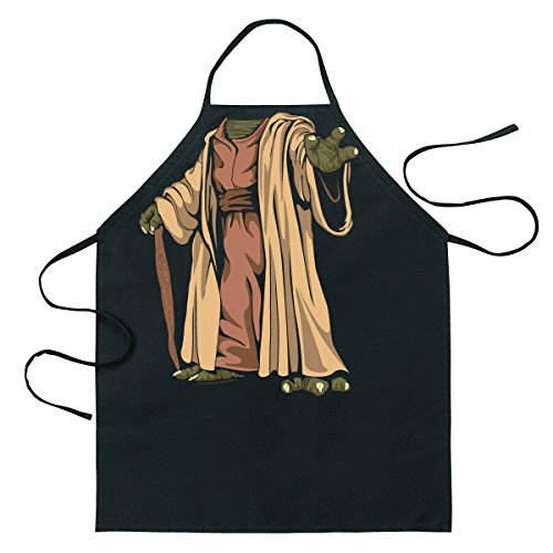 [ICUP Star Wars Yoda  Be The Character Apron] (Yoda Costumes For Adults)