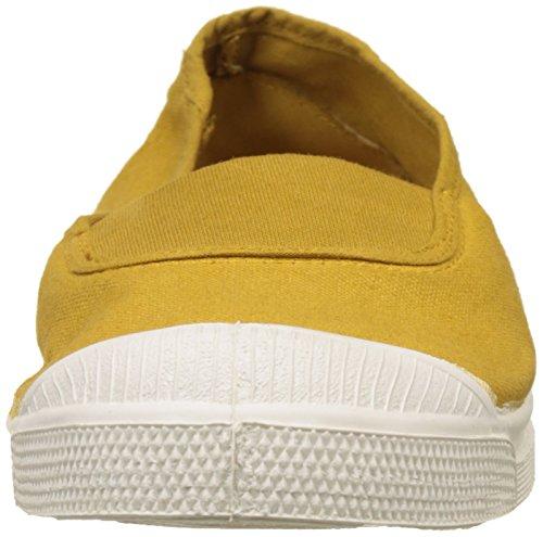Bensimon Women's Tennis Elastique Trainers Yellow (Curry) CFeITQUuQE