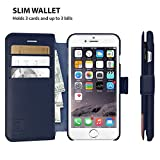 LUPA iPhone 6S Wallet case, iPhone 6 Wallet