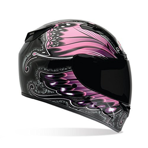 Bell Monarch Women's Vortex Street Bike Motorcycle Helmet - Pink/X-Large -