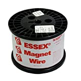 32 AWG Essex Magnet Wire, Enameled Heavy Build, HTAIH, GP/MR-200, 10 LB Spool, Research, Industrial Applications and Personal Projects