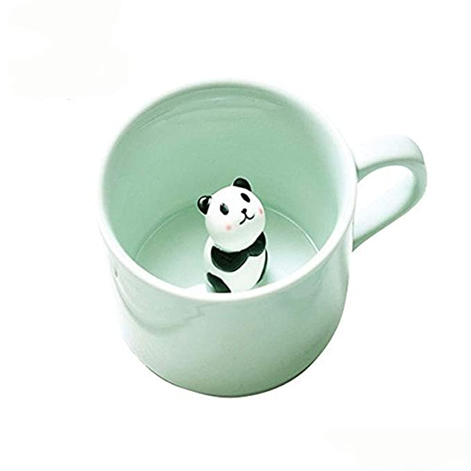 a4948d7cec8b Coffee Milk Tea Ceramic Mugs - 3D Animal Morning Cup Best Gift for Morning  Drink