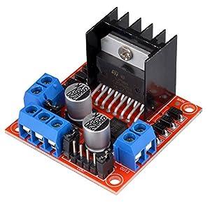 Kuman Mini Stepper Motor Drive Controller Board Module L298N Dual H Bridge DC...