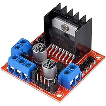 Kuman l298n motor drive controller board dc for Smart drive motor controller