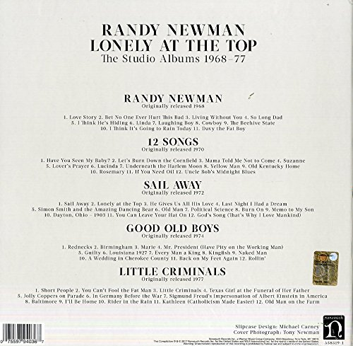 Lonely At The Top: Studio Albums 1968 - 1977 Rsd
