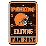 NFL Cleveland Browns Plastic Parking Signs