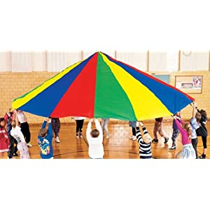6' Super Duty Parachute with 8 reinforced handles