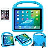 Soweiek iPad 2/3/4 Case - Kids Shockproof Protective Handle Bumper Stand Cover