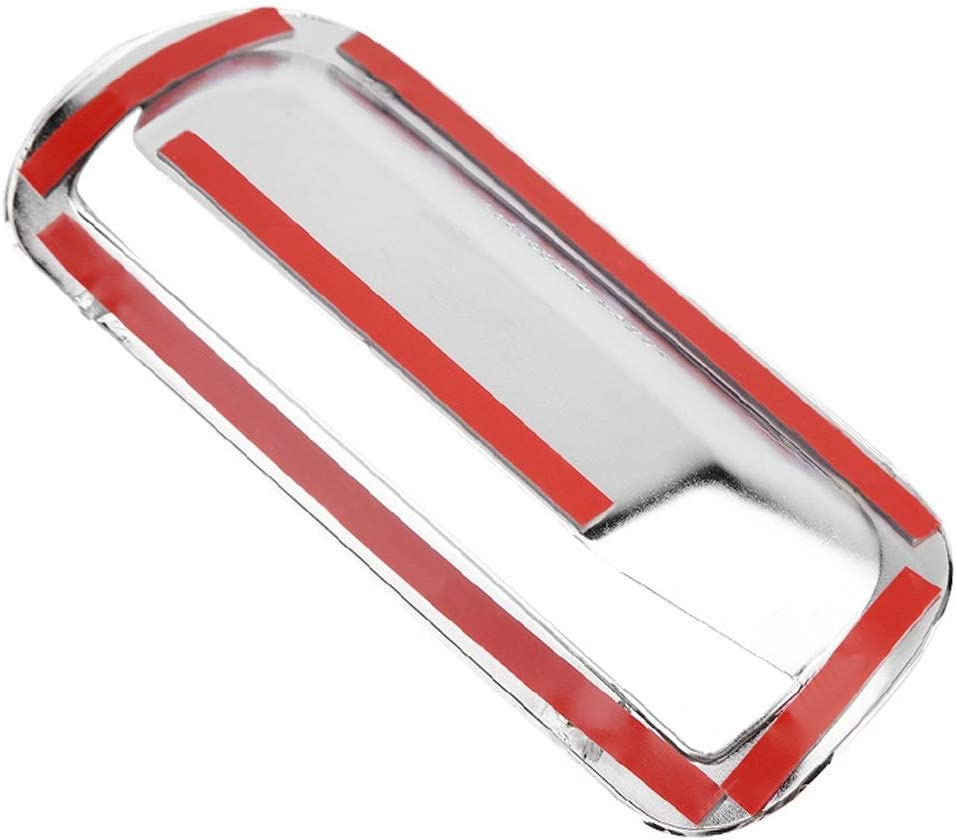 Rear Trunk Door Handle Cover-Chrome Car Auto Rear Trunk Door Handle Cover Trim Compatible with Honda CRV 2007-2011