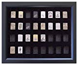 Black Zippo Lighter Display Frame for 32 Zippo Lighters (not included)