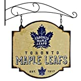 NHL 11309 Toronto Maple Leafs Tavern Sign Black Large