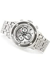 Invicta Men's 'Subaqua' Swiss Quartz Stainless Steel Automatic Watch, Color:Silver-Toned (Model: 90118)
