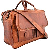 Last DAY - Clearance SALE 2019! Sankalp Leather Messenger Bag Briefcase Laptop Bag Computer Shoulder Satchel, 100% Pure Leather with free shipping