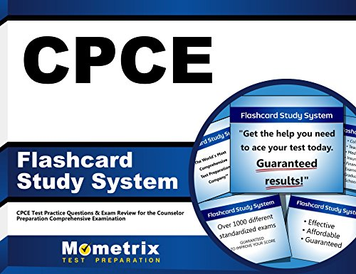 Rosenthal Flash - CPCE Flashcard Study System: CPCE Test Practice Questions & Exam Review for the Counselor Preparation Comprehensive Examination (Cards)