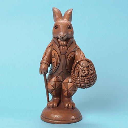 Jim Shore Heartwood Creek Gather Sweet Surprises Chocolate Bunny 4035130