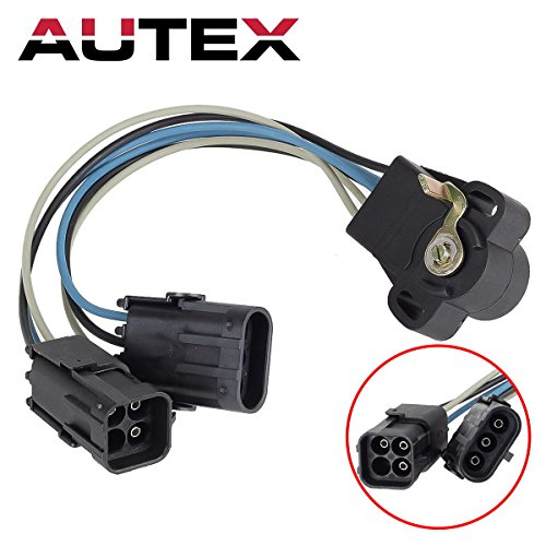AUTEX 33004650 TPS309 Throttle Position Sensor TPS compatible with Jeep Cherokee & Jeep Comanche & Jeep Wagoneer 1987 1988 1989 1990