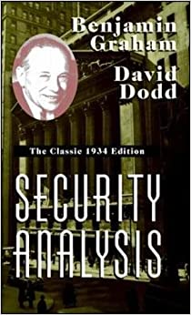 image for Security Analysis: The Classic 1934 Edition