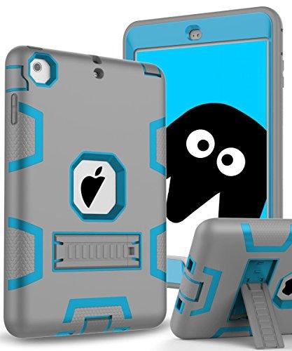 Topsky 3314987 Protective Cover Armor Defender for iPad Mini,Mini 2,Mini 3 and Mini Retina (Grey/Blue)¡