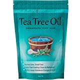 #9: Tea Tree Oil Foot Soak With Epsom Salt, Refreshes Feet and Toenails, Leaving Feet Feeling Soft, Clean and Healthy – Helps Soak Away Tired Feet - 16 oz