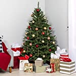 Best-Choice-Products-75ft-Premium-Hinged-Douglas-Full-Fir-Artificial-Christmas-Tree-Festive-Holiday-Decoration-w-2254-Branch-Tips-Easy-Assembly-Foldable-Metal-Stand-Green