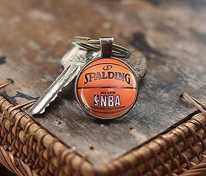 Amazon.com: Llavero de baloncesto, baloncesto, el deporte de ...