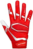 Cutters Gloves, Red/White, XX-Large