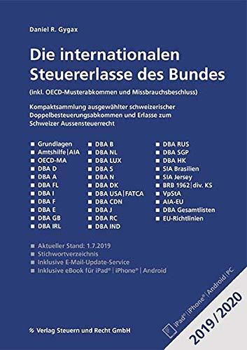 Die Internationalen Steuererlasse Des Bundes 20192020 Inkl Oecd