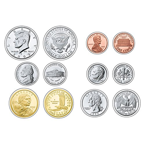 - TREND enterprises, Inc. U.S. Coins Classic Accents Variety Pack, 36 ct