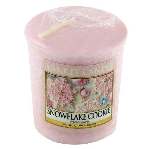 21 opinioni per Yankee Candle- Snowflake Cookie, Candela profumata