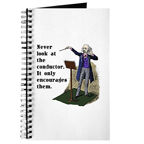 CafePress Conductor Spiral Bound Journal Notebook, Personal Diary, Lined ()