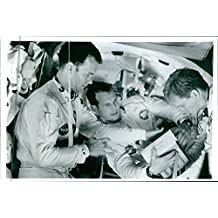 Vintage photo of 1995A scene of the movie Apollo 13. Tom Hanks, Bill Paxton and Kevin Bacon.