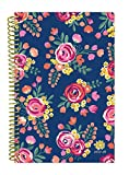 Bloom Daily Planners 2017-18 Academic Year Daily Planner - Passion/Goal Organizer - Monthly and Weekly Datebook and Calendar - August 2017 - July 2018-6'' x 8.25'' - Vintage Floral