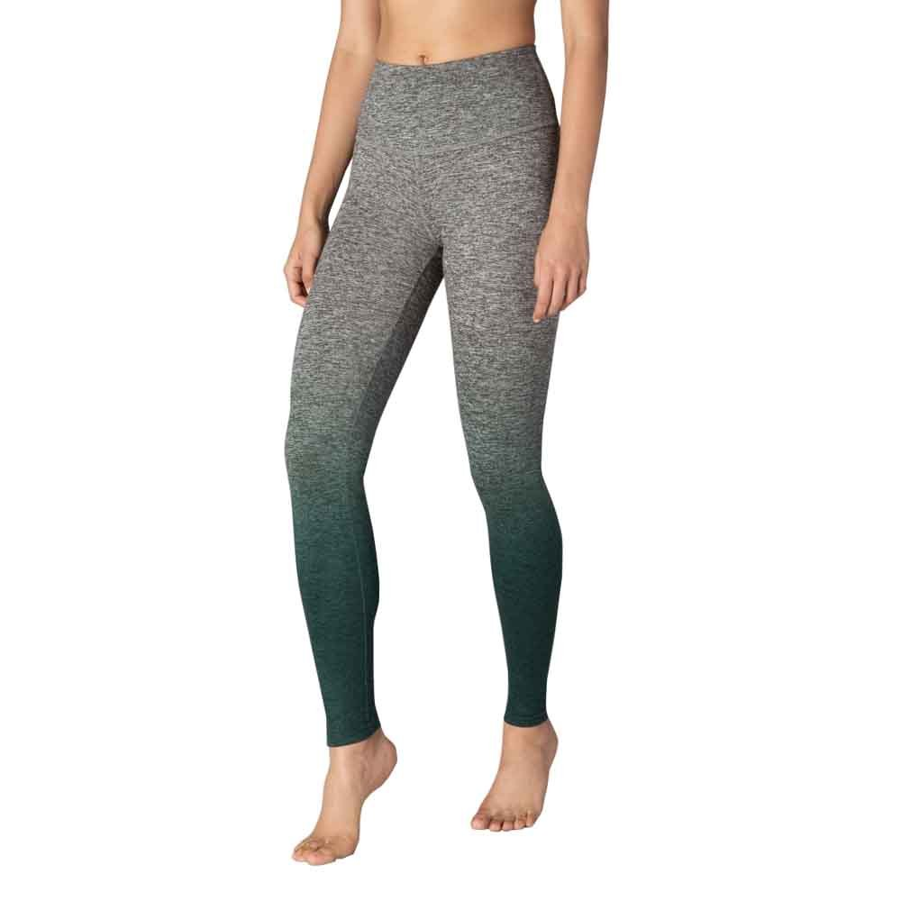 Beyond Yoga Women's Ombre High Waisted Long Legging (Woodland Forest Ombre,S)