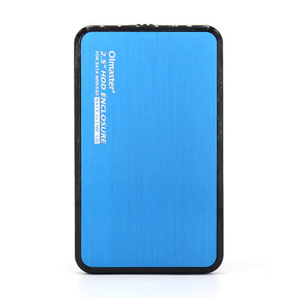 Shentesel 8TB Super-Speed USB 3.0 SATA HDD Hard Disk Driver Box 5Gbps Professional - Blue by Shentesel
